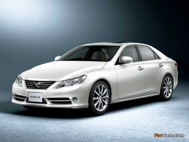 Images of Toyota Mark X Premium (GRX130) 2009 (640 x 480)