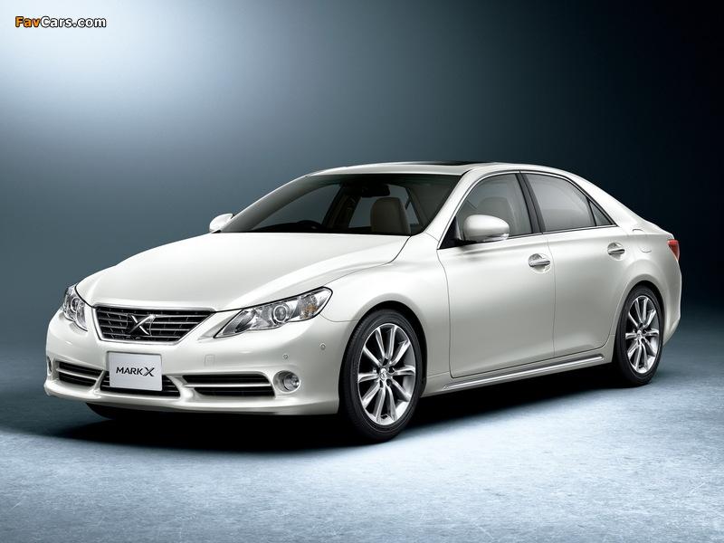 Images of Toyota Mark X Premium (GRX130) 2009 (800 x 600)