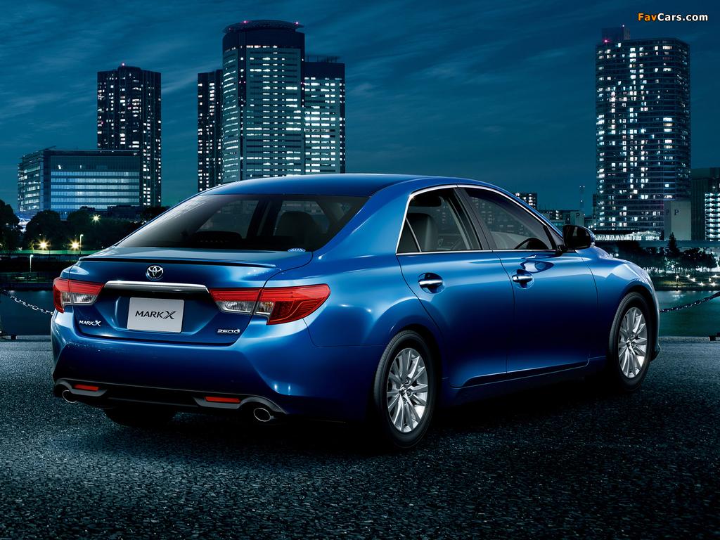 Toyota Mark X 250 G (GRX140) 2012 images (1024 x 768)