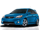 Photos of Toyota Matrix 2002–08