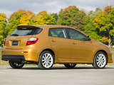 Pictures of Toyota Matrix XRS 2008