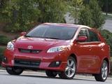 Toyota Matrix S 2008–11 images