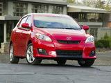 Toyota Matrix XR AWD 2008–11 images