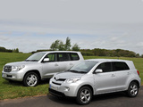 Photos of Toyota Urban Cruiser 2008 & Land Cruiser 200 2007