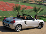 Images of Toyota MR2 Roadster 1999–2002