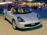 Images of Toyota MR2 Spyder AU-spec 1999–2002