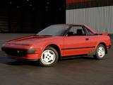 Photos of Toyota MR2 US-spec (AW11) 1985–89