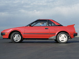 Pictures of Toyota MR2 US-spec (AW11) 1985–89