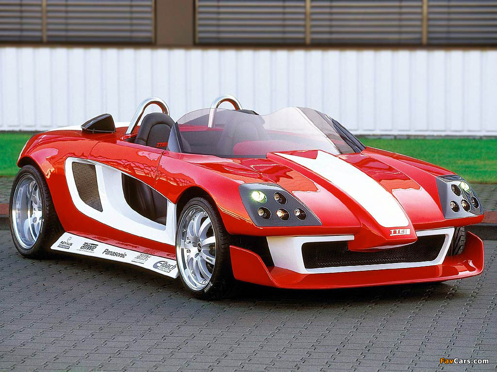 Pictures of Toyota TTR Street Affair Concept 2001 (1024 x 768)