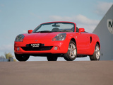 Pictures of Toyota MR2 Spyder AU-spec 2002–05