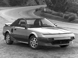 Toyota MR2 US-spec (AW11) 1985–89 images