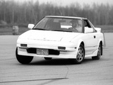 Toyota MR2 US-spec (AW11) 1985–89 pictures