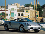 Toyota MR2 Roadster 1999–2002 photos