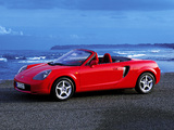 Toyota MR2 Roadster 1999–2002 pictures