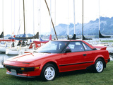 Toyota MR2 US-spec (AW11) 1985–89 wallpapers