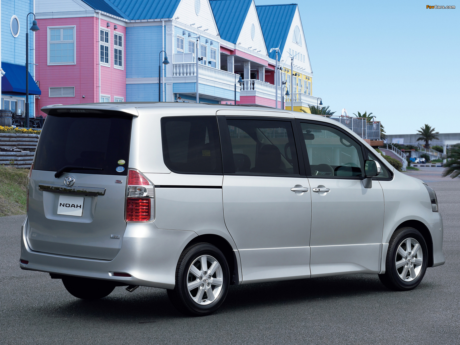Images of Toyota Noah Si 2007 (1600 x 1200)
