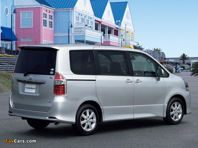 Images of Toyota Noah Si 2007 (640 x 480)