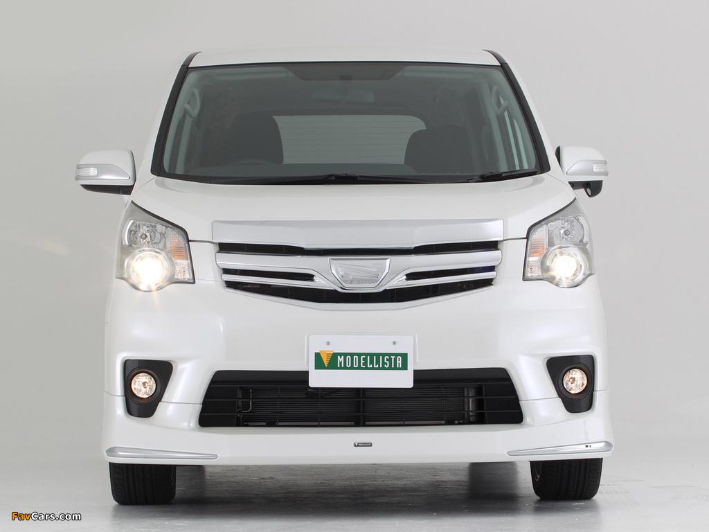 Modellista Toyota Noah 2010 images (1024 x 768)