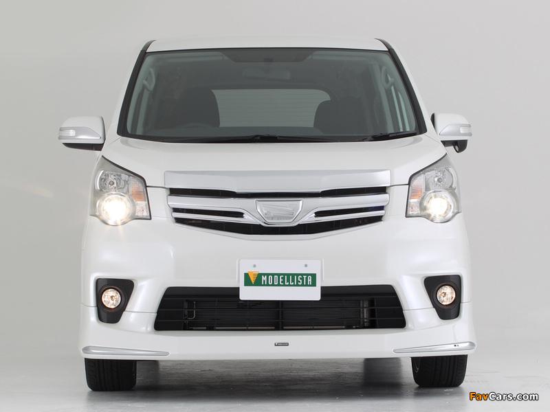 Modellista Toyota Noah 2010 images (800 x 600)