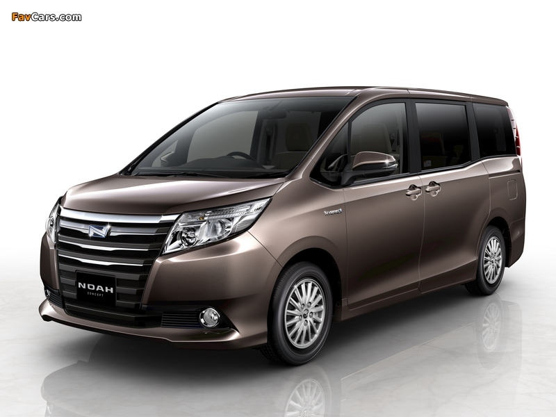 Toyota Noah Concept 2013 pictures (800 x 600)