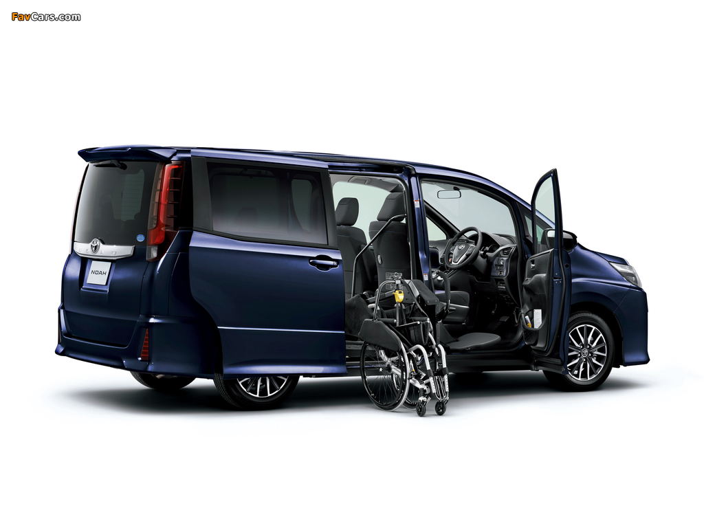 Toyota Noah Welcab 2014 wallpapers (1024 x 768)