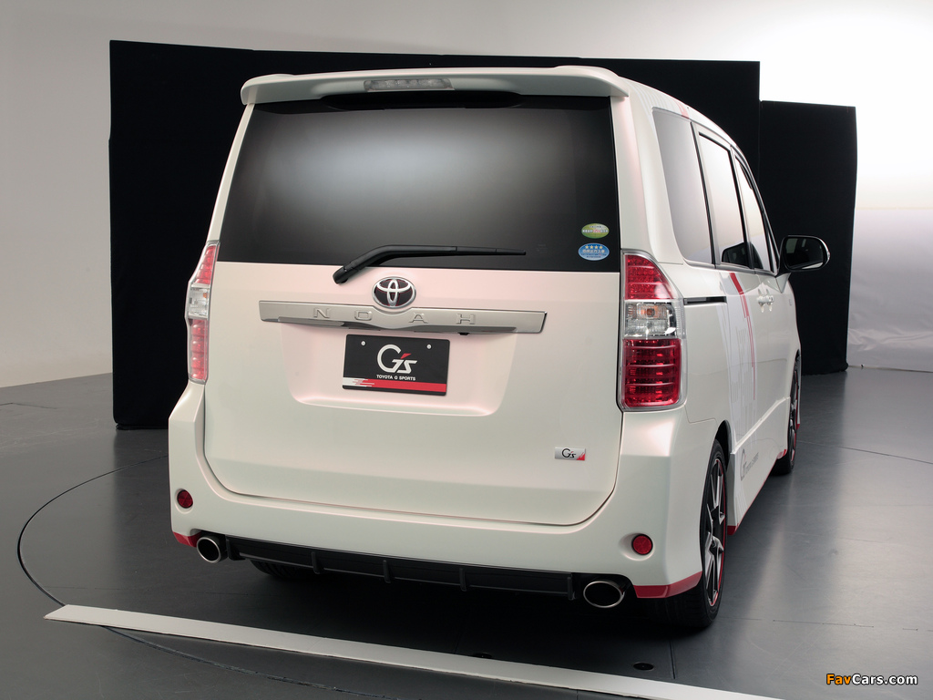 Toyota Noah G Sports Concept 2010 wallpapers (1024 x 768)