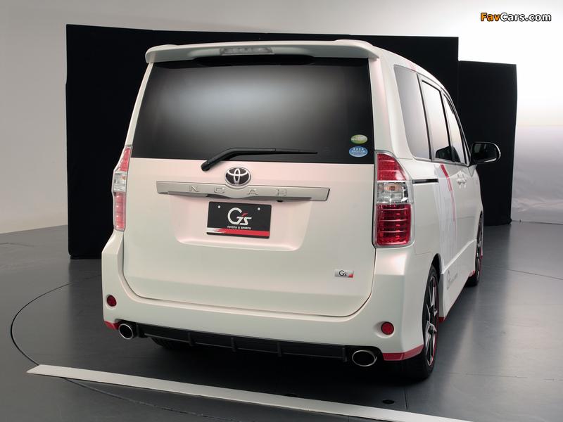 Toyota Noah G Sports Concept 2010 wallpapers (800 x 600)