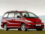 Images of Toyota Previa UK-spec 2005–07