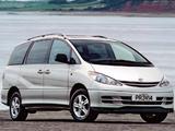 Photos of Toyota Previa UK-spec 2000–05