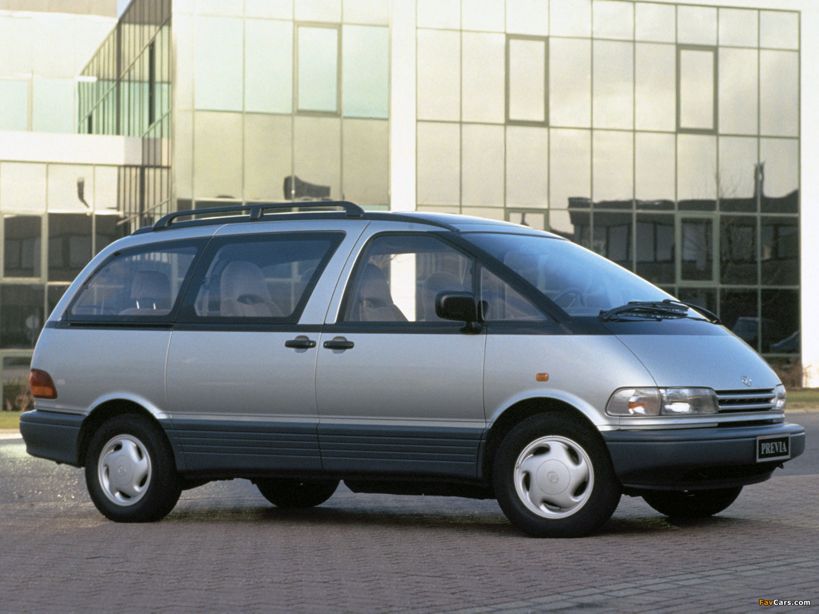 Toyota Previa 1990 2000 Wallpapers 1600x1200