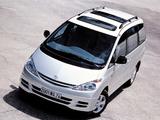 Toyota Previa 2000–05 images