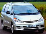 Toyota Previa UK-spec 2000–05 photos