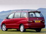 Toyota Previa UK-spec 2005–07 photos