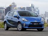 Images of Toyota Prius c AU-spec 2012