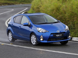 Photos of Toyota Prius c AU-spec 2012