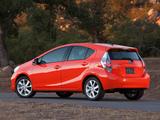 Pictures of Toyota Prius c 2012