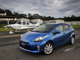 Toyota Prius c AU-spec 2012 images