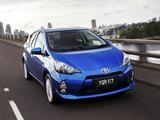 Toyota Prius c AU-spec 2012 photos