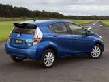 Toyota Prius c AU-spec 2012 pictures