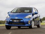 Toyota Prius c AU-spec 2012 wallpapers