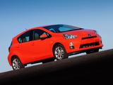 Toyota Prius c 2012 wallpapers