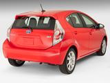 Toyota Prius c 2012 images
