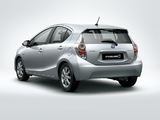 Toyota Prius c ZA-spec 2012 wallpapers