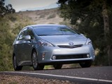 Images of Toyota Prius v (ZVW40W) 2011