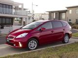Images of Toyota Prius v AU-spec (ZVW40W) 2012