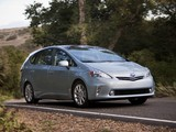 Photos of Toyota Prius v (ZVW40W) 2011