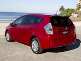 Photos of Toyota Prius v AU-spec (ZVW40W) 2012