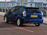 Photos of Toyota Prius+ UK-spec (ZVW40W) 2012