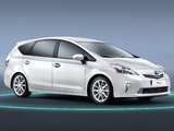 Photos of Toyota Prius+ (ZVW40W) 2011