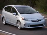 Pictures of Toyota Prius v (ZVW40W) 2011